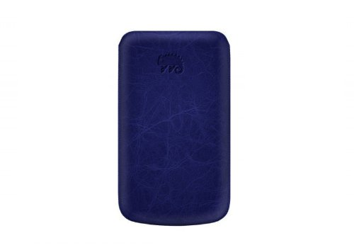 Katinkas USA 2108045492 Premium Leather Case for Samsung Galaxy W I8150 Creased - 1 Pack - Case - Retail Packaging - Dark Blue
