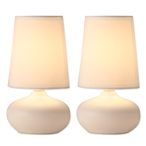 Small Ceramic Table Lamp (Light Accents Table Lamp Set - 2 Pack Ceramic Table Lamps (Set of Two))