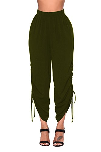 Green Ankle Pants - 3
