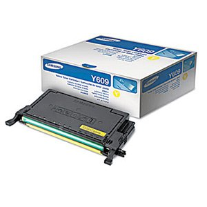 Genuine OEM brand name Samsung Yellow Toner /Drum Cartridge for CLP-770ND (7K Yield) CLTY609S