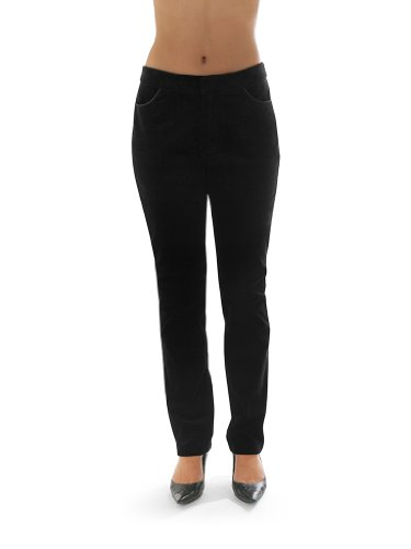 Go Free Womens Dress Pant 14 Black