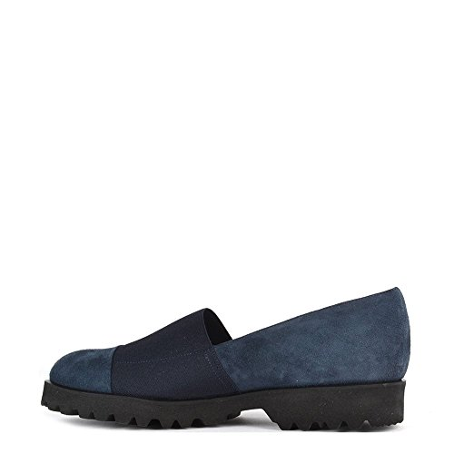 Elia B Shoes Easy Track Blue Suede Loafer Blue AyN7g4