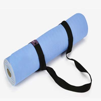 YOGA MAT - Colchoneta de Yoga, Color Blue+Gray: Amazon.es: Hogar