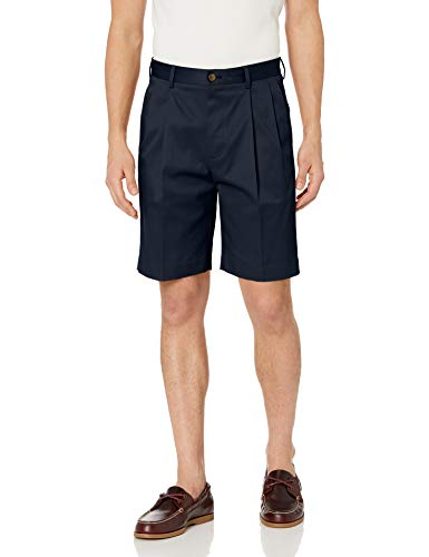 - BUTTONED DOWN Men's Relaxed-Fit Pleated 9