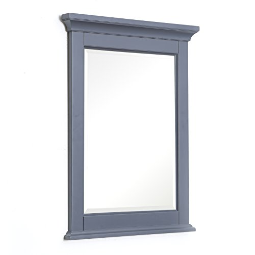 Kitchen Bath Collection Newport 24-inch Wall Mirror (Charcoal - Mirrors Bathroom Houzz