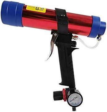 エア工具 空気圧ガラス接着剤銃、オーバーフロー防止接着剤設計接着剤銃工業用グレードのハンドツール 安定した性能,高耐久