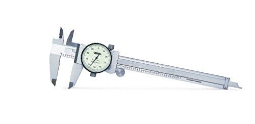 INSIZE 1311-150A Dial Caliper, 0-150 mm, Graduation 0.01 mm