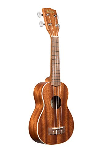 Kala, 4-String Ukulele, Brown, One Size (KA-S)
