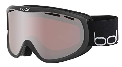 bollé Sierra Snow Goggles Shiny Black & White Women's Small/Medium