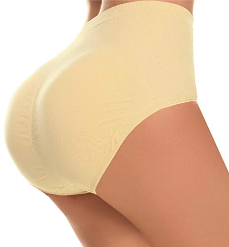 CeesyJuly Womens Butt and Hip Padded Underwear Belly Slimmer Trainer Body Shaper