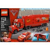 LEGO Cars Mack's Team Truck 8486