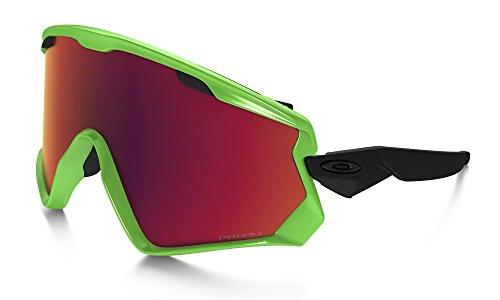 Oakley Wind Jacket 2.0 Adult Goggles - 80s Green/Prizm Torch Iridium / One - 2.0 Oakley Jacket Wind
