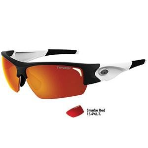 83f8b797468 Amazon.com   Tifosi Optics Tifosi Lore Sl Black white Single Lens Sunglasses  - Smoke Red   Beauty