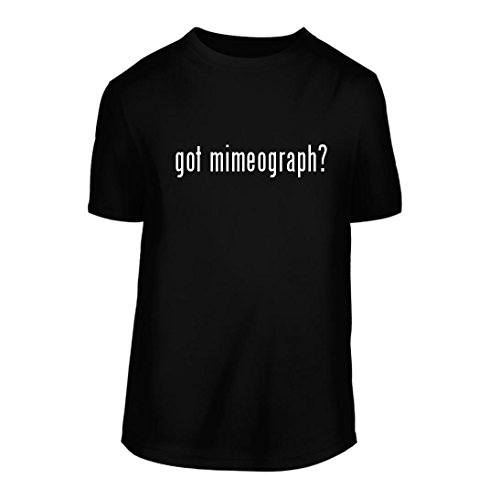 got Mimeograph? - A Nice Men's Short Sleeve T-Shirt Shirt, Black, Large