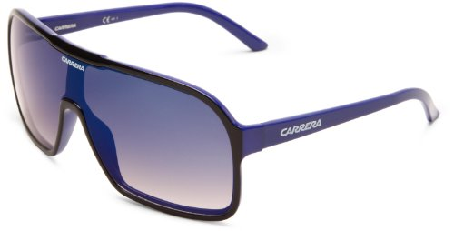 Carrera CARERRA Ca5530S Aviator Sunglasses,Black,Blue Frame,Grey Multi Deg Lens,One - Glasses Carerra