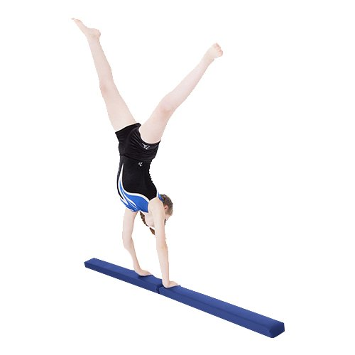 Königsblau Kunstleder Zusammenfaltbar Gymnastik Training ...