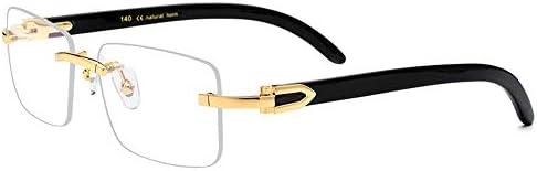 Easy Go Shopping Gafas cuadradas de Lentes Transparentes ...
