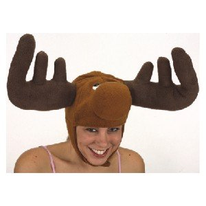 Jacobson Hat Company Adult Moose Hat Brown