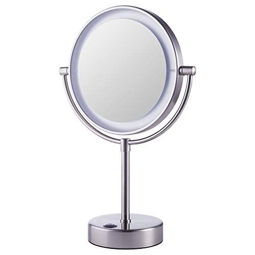 IKEA 002.781.49 Kaitum Mirror with Built-In Light, Battery Operated