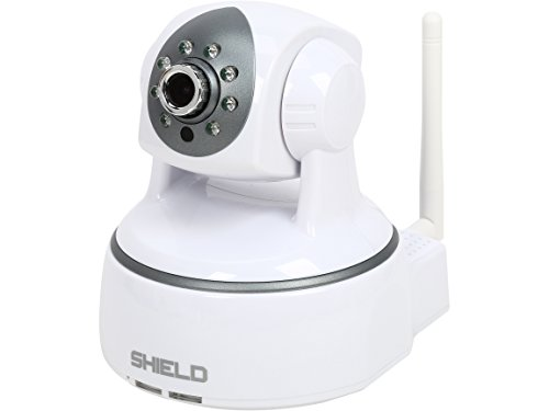 SHIELDeye RSCM-13601W, Wireless/WiFi IP Camera, Pan & Tilt, 2 Way Talk, Night Vision, Plug & Play Phone Remote Monitoring