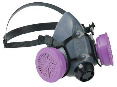 North by Honeywell 550030M 5500 Series Low Maintenance Half Mask Respirators, Medium