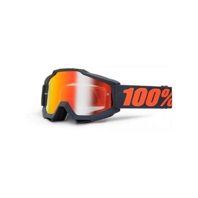 100% - Masque 100% Accuri Gunmetal Ecran Miroir Rouge