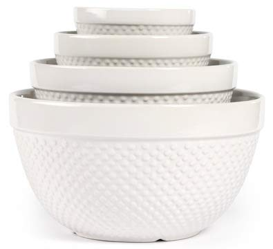 Hobnail 4 Piece, Mixing Bowl ()