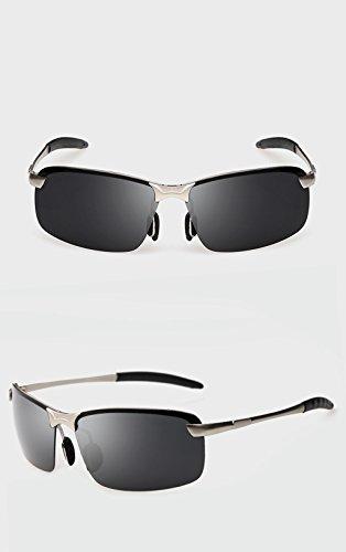protecciónn de Gafas sol de sol de Gafas Conducción de LYM Gafas B de magnesio D y amp; amp;Gafas aleación aluminio Gafas para sol hombres Color polarizadas Gafas de IawWqEtq