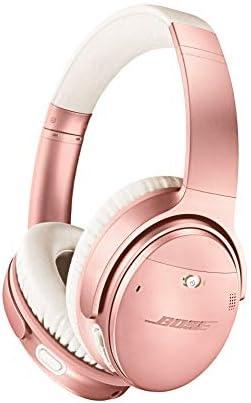 Bose QuietComfort 35 II Wireless Bluetooth Headphones Noise-CancellingAlexa Voice Control - Rose Gold