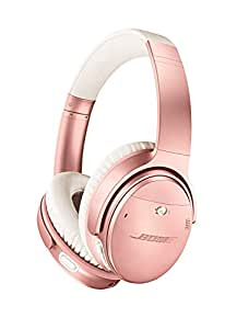 Bose QuietComfort 35 II Wireless Bluetooth Headphones, Noise-Cancelling, enabled with Bose AR – Gold Rose