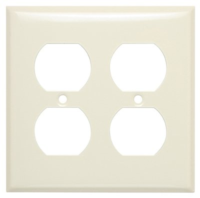 MULBERRY METALS 84102 IVY 2G DPLX Wall Plate