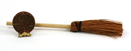 Dollhouse Miniature Halloween Witches Broom