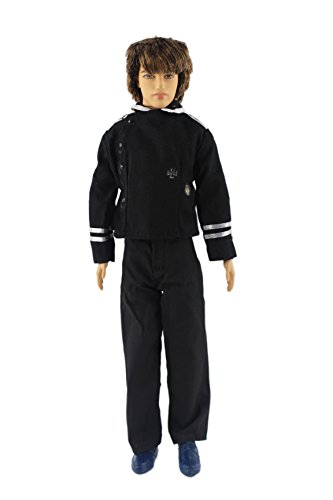 2in1 Set Fashion Uniform Outfits Clothes for Barbie's Boy Friend Bf Ken Doll