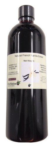 French Vanilla Extract, Natural 16 oz by - Pumpkin Cookies Shortbread