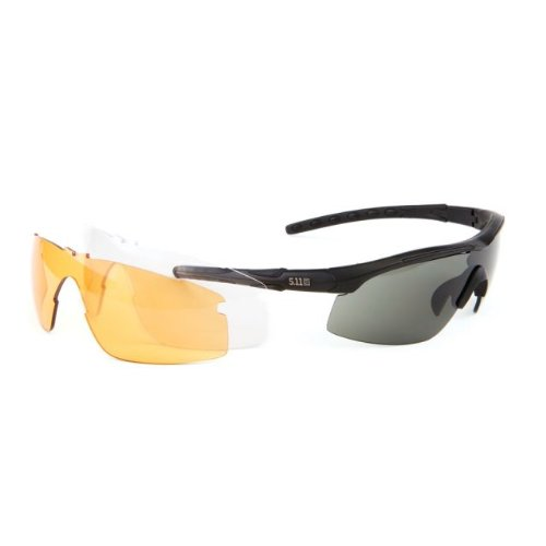 5.11 Tactical 52026 Replacement Polycarbonate Lens for Raid Sunglasses, Ballistic - 5.11 Sunglasses