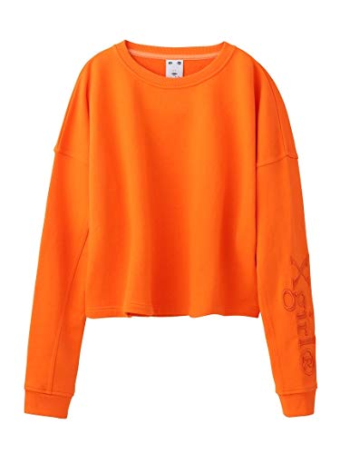 X-girl(エックスガール) WELL-KNOWN LOGO SWEAT SHORT TOP