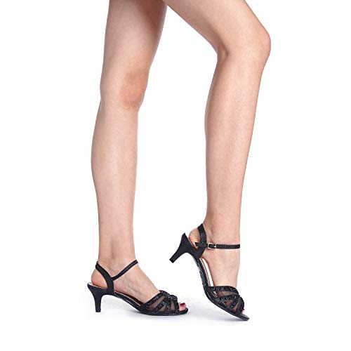 0c728bb14 Jual DREAM PAIRS Women s Nina Low Heel Pump Sandals - Heeled Sandals ...