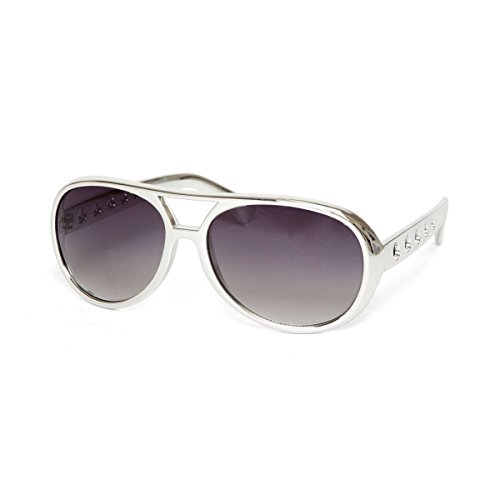 Gravity Shades Rock and Roll King Sunglasses, (Elvis Shades)