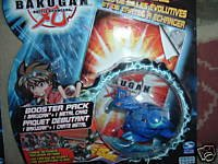 Skyress Blue Bakugan Battle Brawler Booster Pack with Metal Card B0019KBLBM