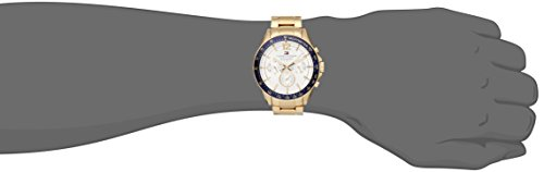 Tommy Hilfiger Men 1791121 Sophisticated Sport GoldTone Stainless Steel Watch
