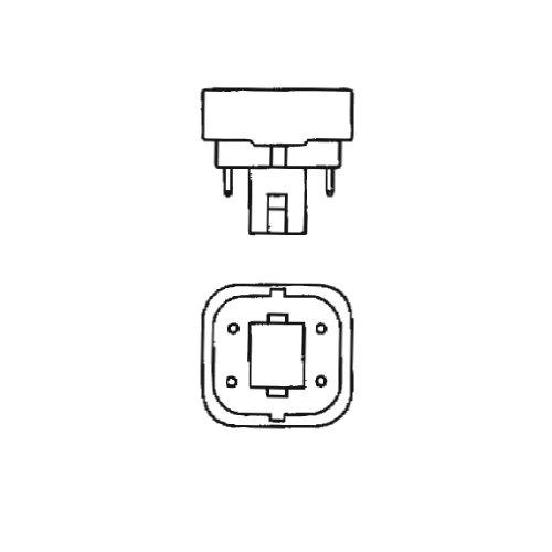 Bulbrite CF13D841//E 13W Dimmable Quad 4-PIN 841K Compact Fluorescent Light Bulb Cool White