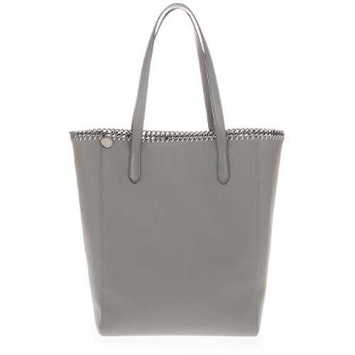 Stella-McCartney-Womens-Falabella-Chain-Trimmed-Faux-Eco-Leather-Tote-Grey