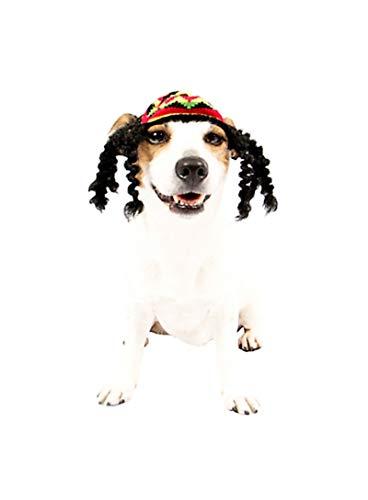 HalloCostume Rasta Dog Costume, Dog Costumes for