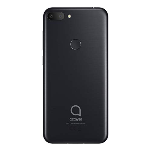 Alcatel 1S - Teléfono móvil de 5,5 (RAM de 3 GB, Camara led Flash), Color Negro