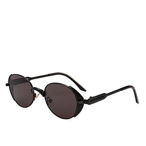 Sol Color de del decoración Moda la de la Estilo de Steampunk Gafas de de Proteccion de Ojos de Vendimia Primavera C3 C1 la Tonos wqIf1P