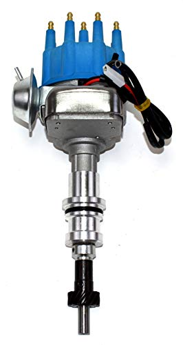 A-Team Performance R2R Ready 2 Run Complete Distributor 289 / 302 Compatible With Ford Small Block SBF 2-Wire Instillation ()