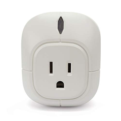 Summit Outlet - Fox&Summit FS-IP100 Wi-Fi Indoor Plug | Smart Plug Compatible w/Google Assistant & Alexa | Wi-Fi Control for Remote Home Monitoring (No Hub Needed) | Built-in Timer & Chime for Safety and Security