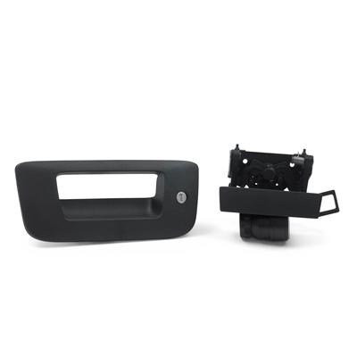 - General Motors 2007-2013 Chevrolet Silverado or GMC Sierra Black Bezel and Handle with Codeable Lock Package by GM 22755305