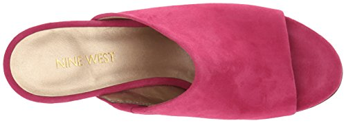 Nine Mule Suede Women's Pink West Gemily qw7zv