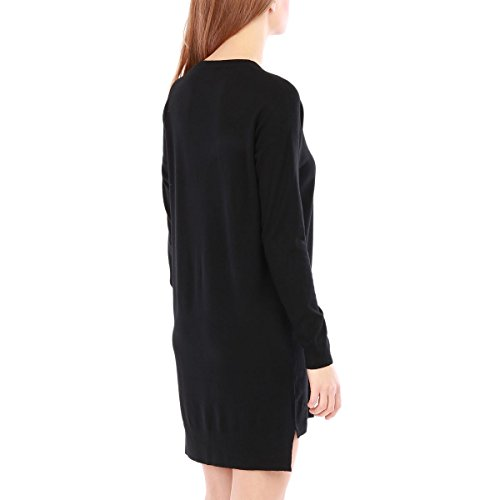 La Modeuse - Vestido - Una manga - para mujer negro